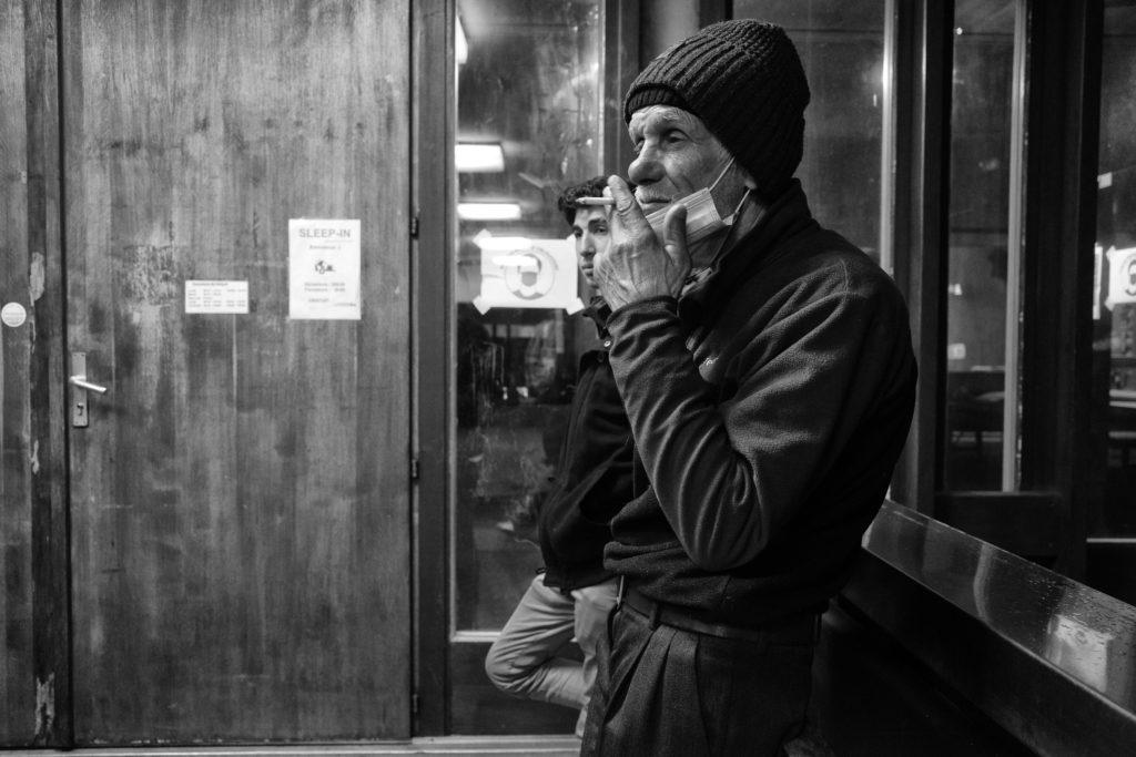 La Caravane Sans Frontières, Hébergement d'urgence, sans-abri, sleep-in, solidarité, photographe Aurélien Fontanet